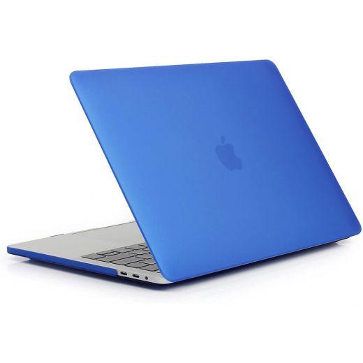 "Пластиковый чехол CasePro Soft Touch Matte Blue для MacBook Pro 13"" (2020 | M1)"