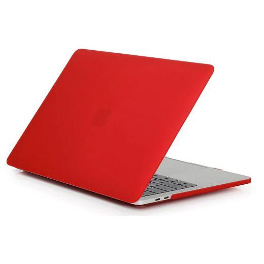 "Пластиковый чехол CasePro Soft Touch Matte Red для MacBook Pro 13"" (2020   M1)"