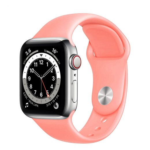 Ремешок CasePro Sport Band Pink для Apple Watch 38/40mm