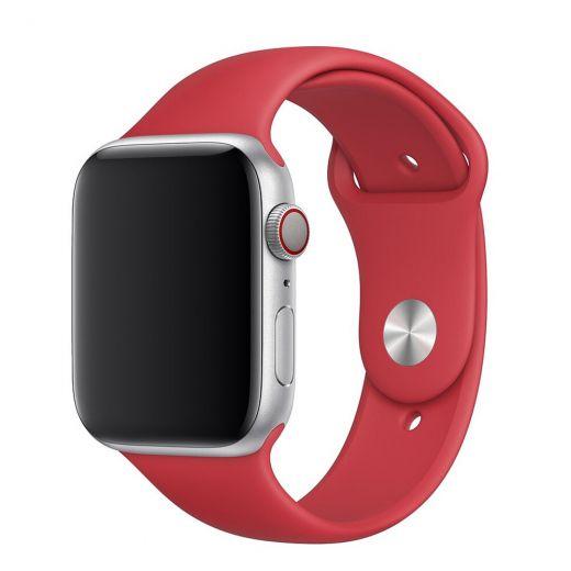 Ремешок CasePro Sport Band Red для Apple Watch 42/44mm