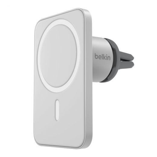 Держатель Belkin MagSafe Car Vent Mount PRO для iPhone 12 (WIC002btGR)