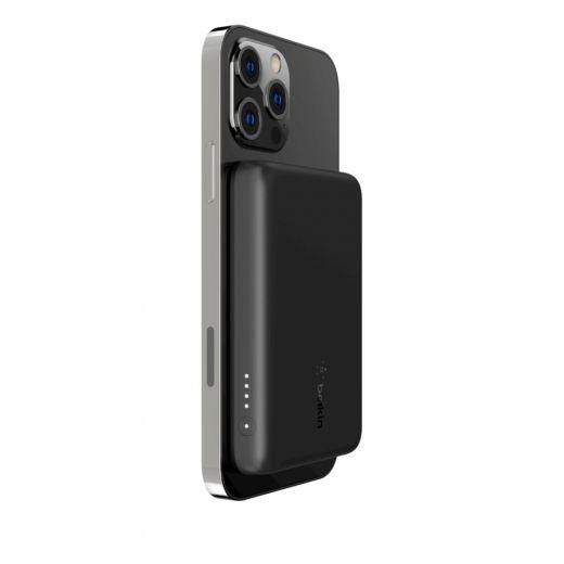 Портативное зарядное устройство Belkin Wireless Power Bank MagSafe 2500mAh Black (BPD002btBK)