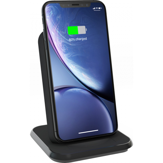 Подставка Zens Stand Aluminium Wireless Charger Black with USB-C 18W PD Wall Charger (ZESC15B/00)